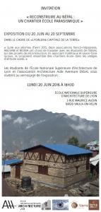 Exposition ENSAL 2016