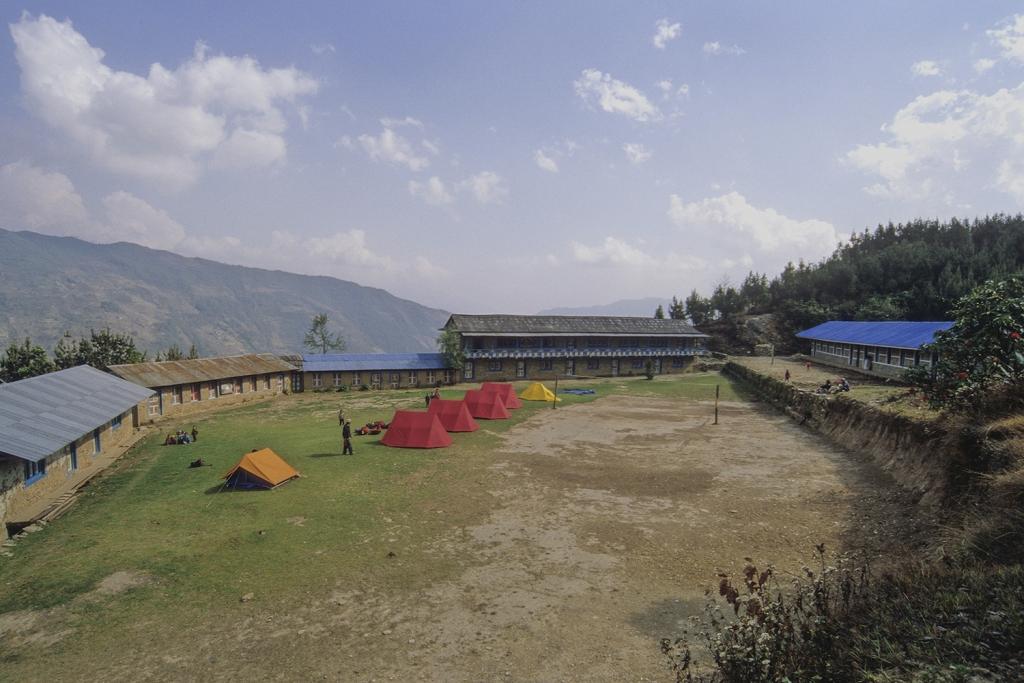 L'école de Basakhali (vue générale)
