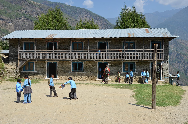 L'école de Thulodunga