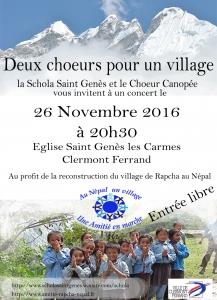 Clermont-Ferrand, novembre 2016 concert