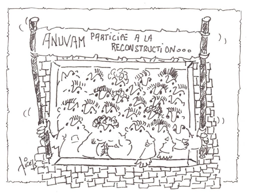 Dessin de Jean-Claude Pichenot (Tous droits réservés)